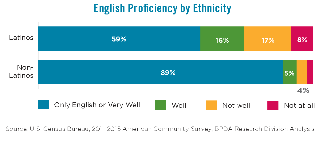 English Proficiency by Ethnicity